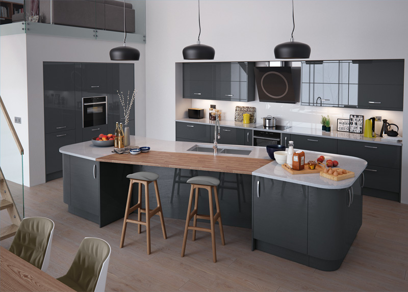 contemporary kitchen range - Kitchen Collections