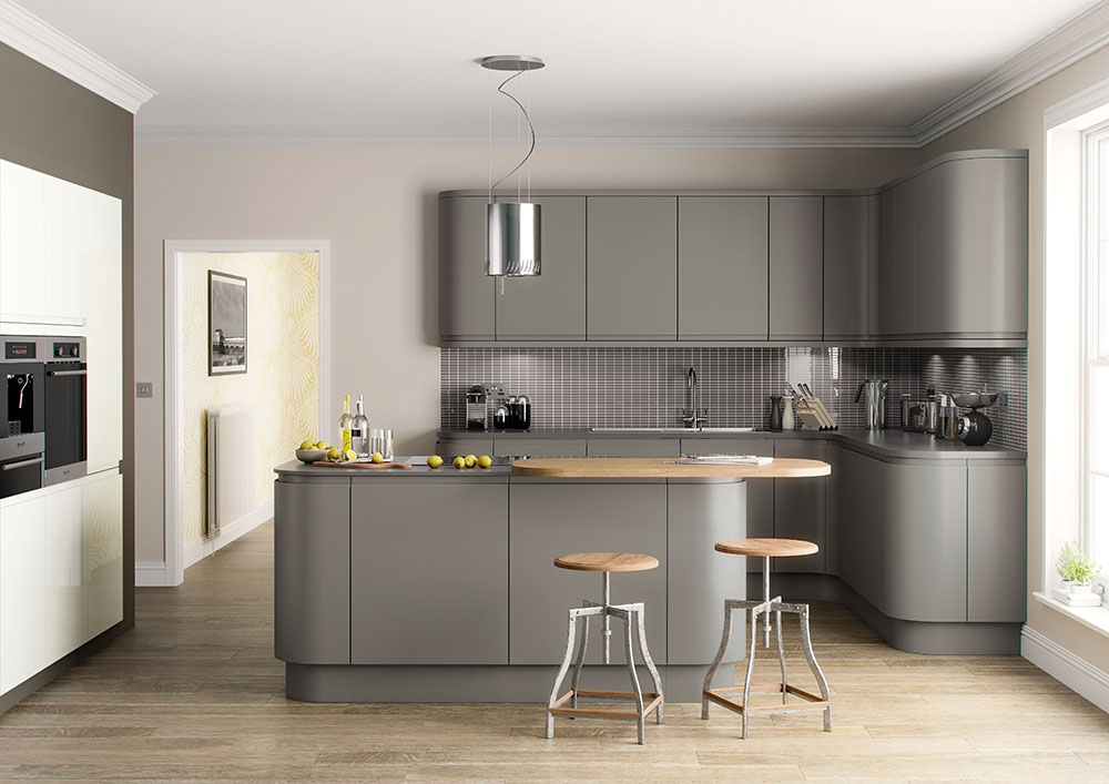 Lucente Hand Painted Dust Grey