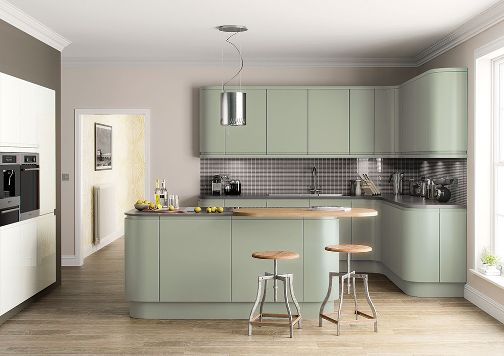 Lucente Hand Painted French Grey