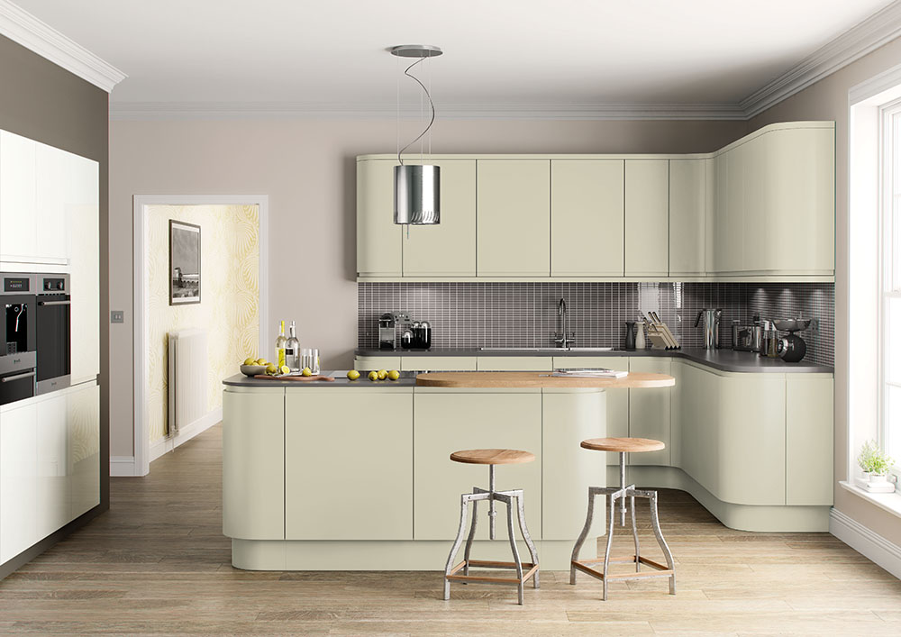 Lucente Hand Painted Sage Green